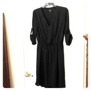 Flirty Easy Breezy Black Dress